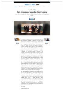 Read more about the article Rete Civica suona la sveglia al centrodestra