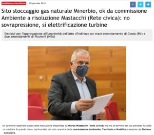 Read more about the article Minerbio: ok da commissione Ambiente a risoluzione Mastacchi (Rete Civica): no sovrapressione