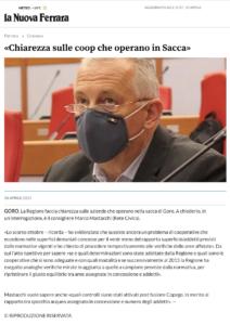 Read more about the article Mastacchi: Goro: la Regione faccia chiarezza sulle aziende che operano nella sacca di Goro