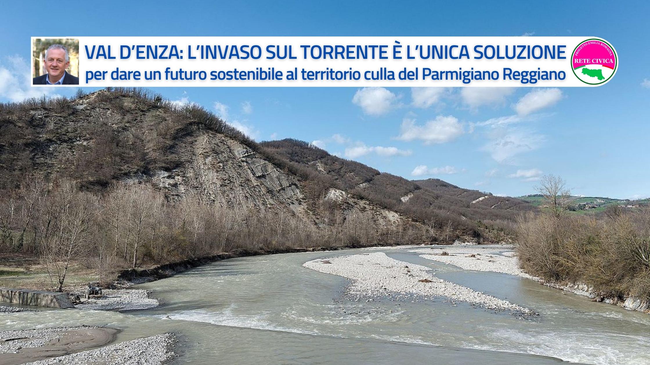Val d'Enza Diga di Vetto - comunicato congiunto Mastacchi