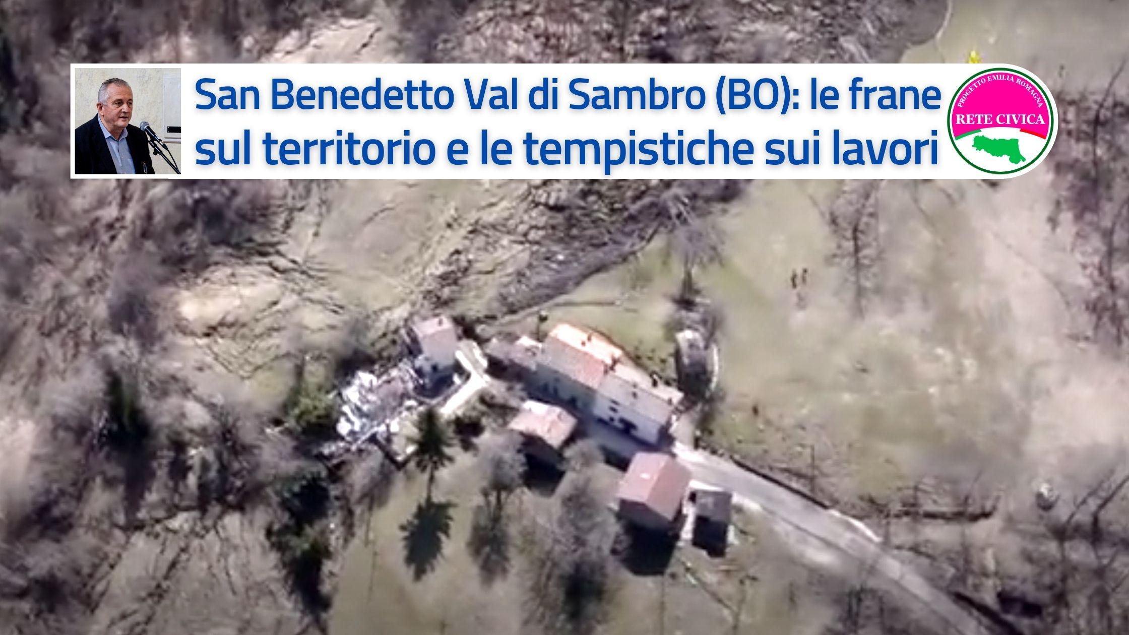 Frana di San Benedetto - Marco Mastacchi - Lavori