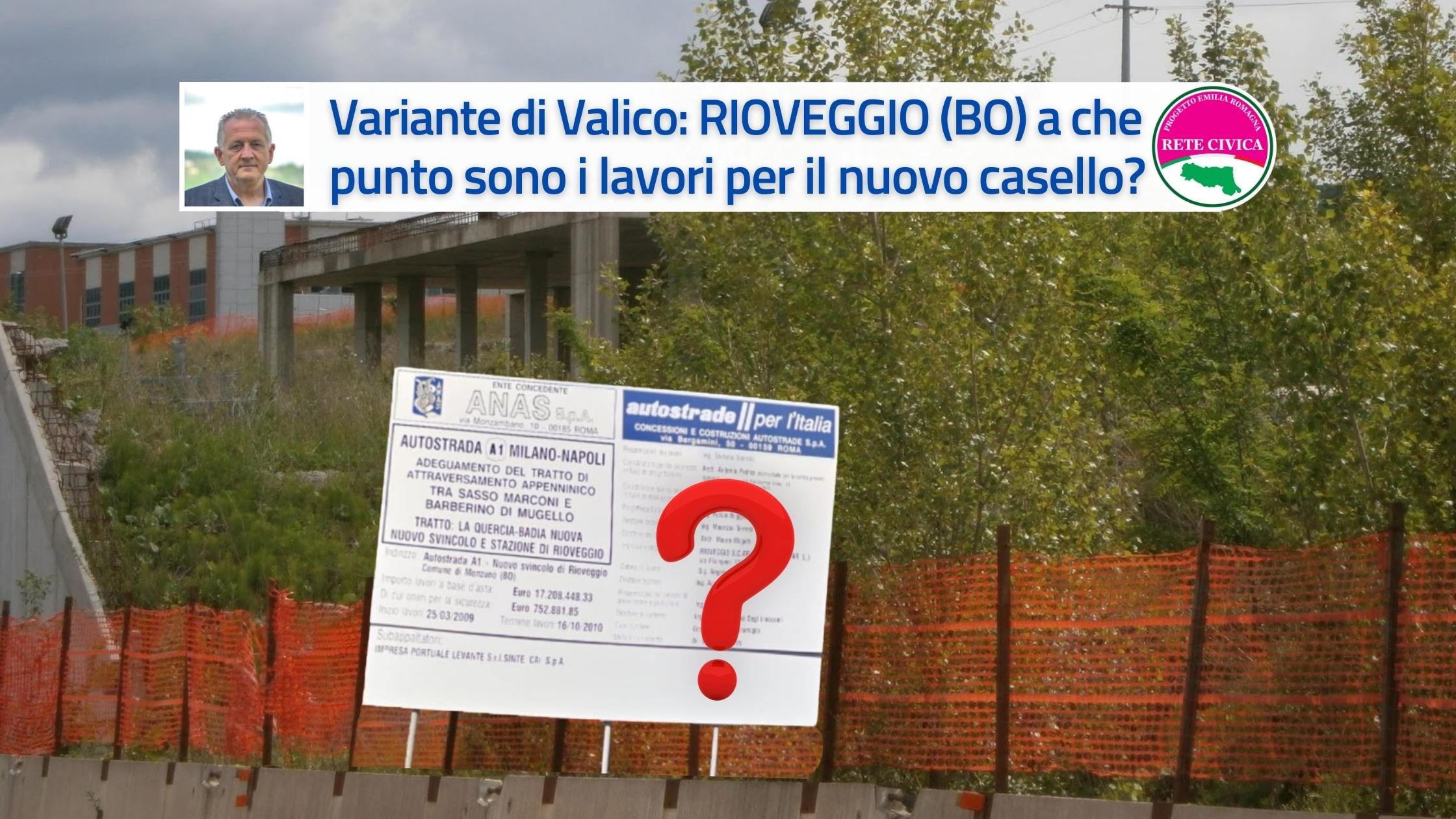 Rioveggio - Casello - Marco Mastacchi RETE CIVICA