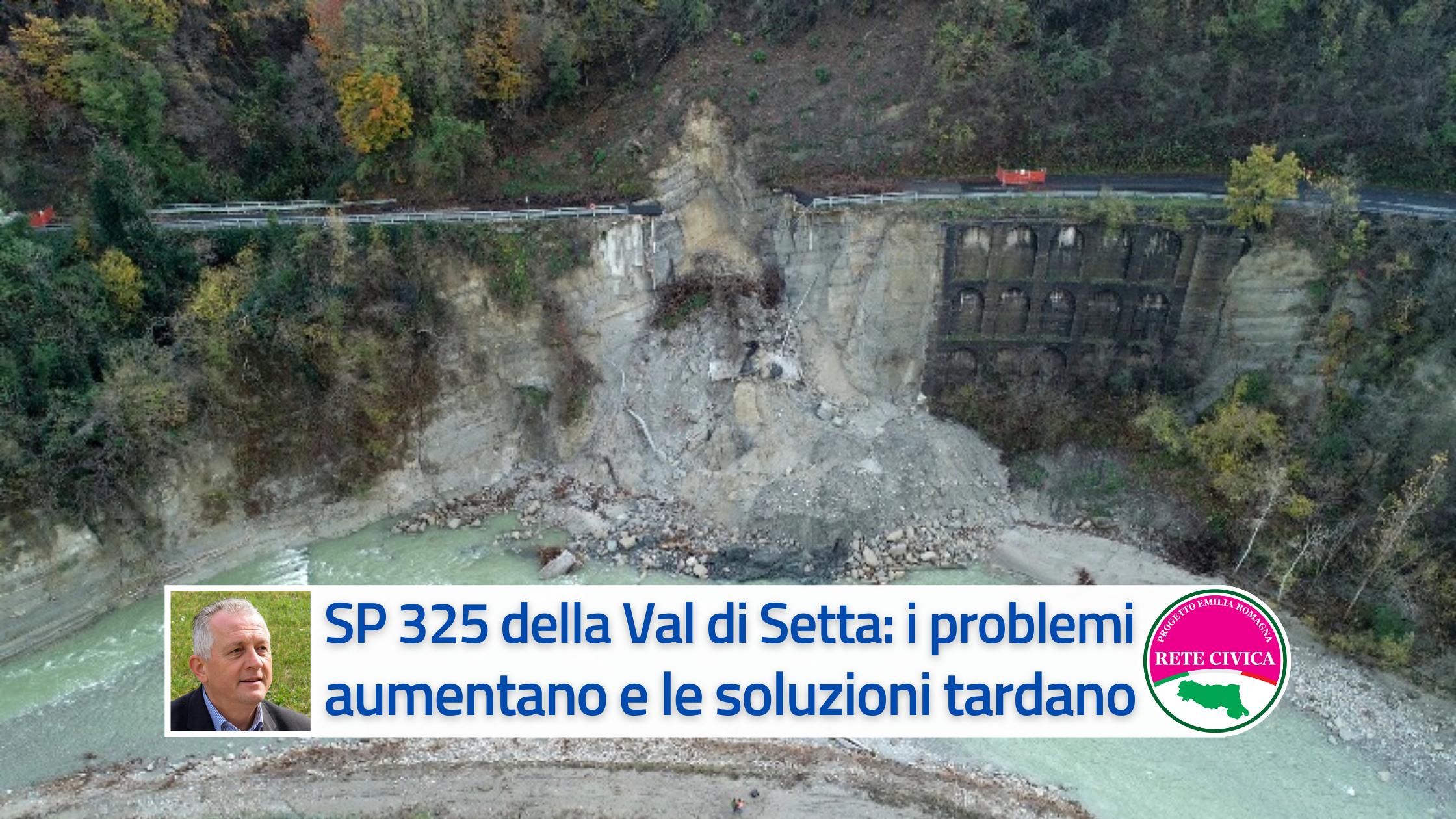 You are currently viewing SP 325 della Valle del Setta: i problemi aumentano, le soluzioni tardano